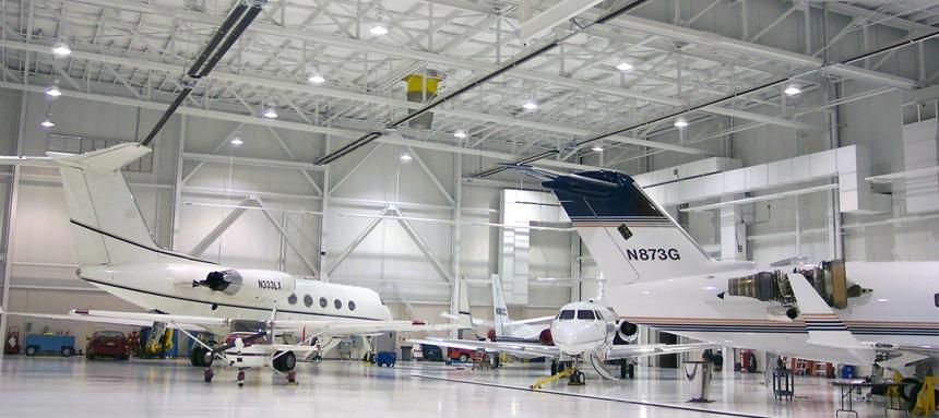 Brant Radiant Heaters Aircraft Hangars